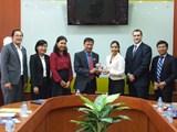 Trường Đại học Ngân hàng TP. Hồ Chí Minh làm việc với Đại học ...
