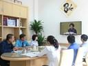Cán bộ, Giảng viên, Viên chức, NLD trường ĐH Ngân hàng Tp. HCM trả lời truyền hình Thông tấn về kỳ họp thứ II Quốc hội khóa XIV