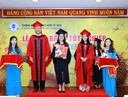 Báo Thanh niên, Báo Tuổi trẻ đưa tin Lễ tốt nghiệp Chương trình cử nhân CLC Khóa 1 trường ĐHNH Tp. HCM
