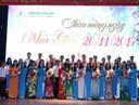 Trường ĐH Ngân hàng Tp. HCM long trọng tổ chức Lễ tri ân ngày Nhà giáo Việt Nam 20/11