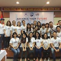 Sinh viên chương trình chất lượng cao với chương trình Advance Your Future của Citibank