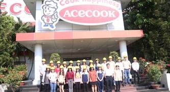 Tham quan nhà máy Acecook