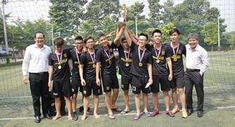 Giải bóng đá sinh viên khối CLC năm 2017