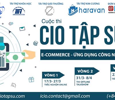 Cuộc thi CIO tập sự_ Ecommerce - ứng dụng công nghệ trong kinh doanh