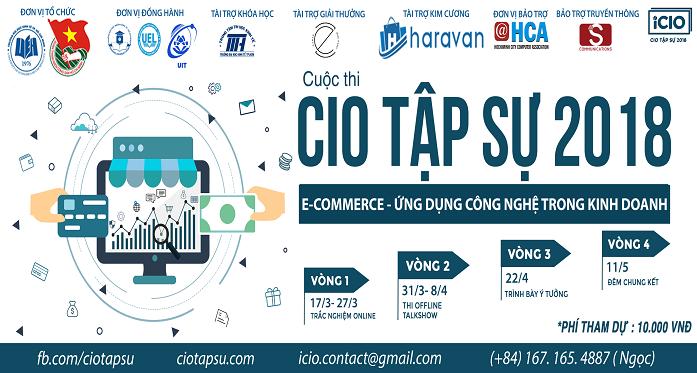 cuộc thi CIO tập sự _  Ecomemerce - ứng dụng công nghệ trong kinh doanh
