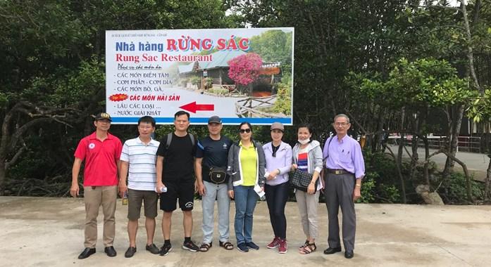 Về nguồn tại rừng Sác 9.2018 CHI BỘ KHOA LUẬT KINH TẾ - BUH