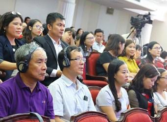 """Hội thảo Quốc tế """"Dạy và học ngoại ngữ gắn với chuyên ngành trong bối cảnh hội nhập quốc tế - Lý luận và thực tiễn"""""""