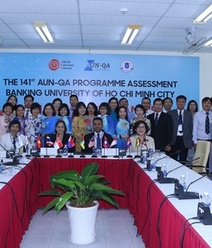 The 141st AUN-QA Programme Assessment Activities are taking place at the BUH