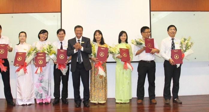 Hội nghị cán bộ chủ chốt trường ĐH Ngân Hàng tp Hồ Chí Minh tháng 01 năm 2015