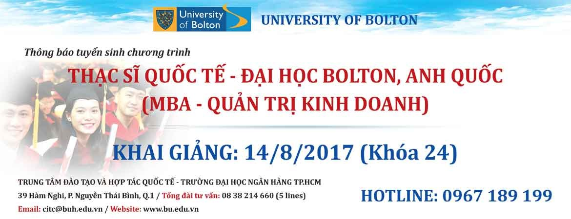 Tuyen sinh Thac si quoc te- Anh quoc