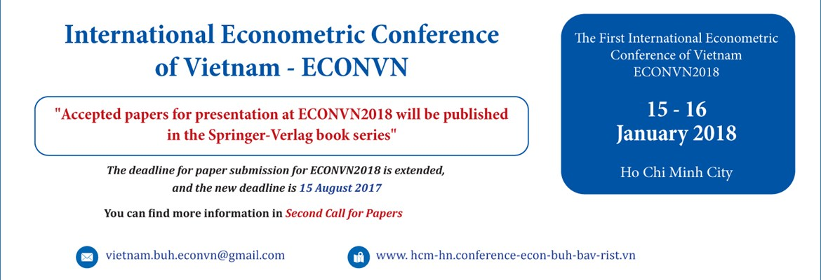 International Econometric Conference Of Viet Nam - ECONVN