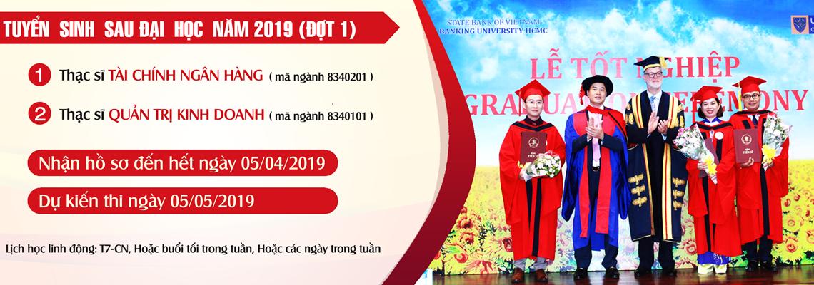 Tuyển sinh Thạc sĩ 2019 đợt 1
