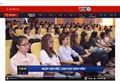 """VTV1 đưa tin """"Ngày hội việc làm BUH lần thứ 12 - Năm 2019"""""""