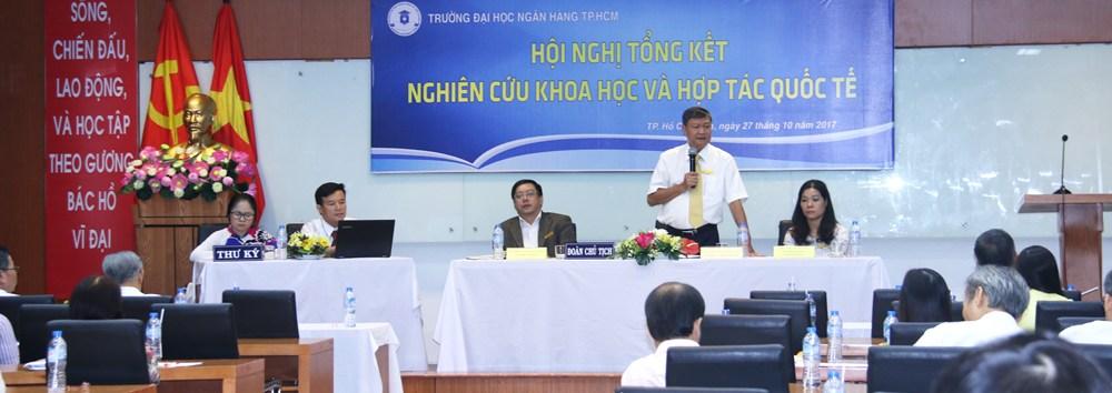 Hội nghị tổng kết NCKH 2016-2017