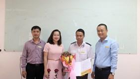 Họp Văn phòng và Lễ bổ nhiệm Tổ trưởng - tổ Bảo vệ