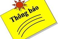 Thông báo về việc nghỉ tết Dương lịch năm 2020